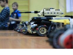 """Городские робототехнические соревнования 30-31 октября 2019 года Робототехнический """"Танковый Биатлон"""""""